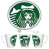 MERCHANDMANIA Tasse CONICA Logo Anime CAFÉ Conic Mug