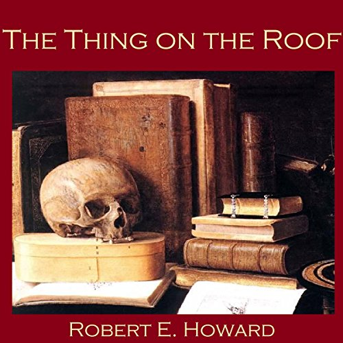 The Thing on the Roof audiobook cover art