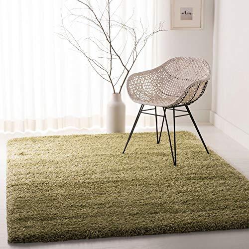 "Safavieh California Premium Shag Collection SG151-5252 Green Area Rug (5'3"" x 7'6"")"