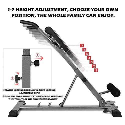 Product Image 3: SHKY Multifunctional Back Hyperextension Bench, Home Fitness Equipment Benches, for Strengthening Abs, Strength Training Workout Fitness Equipment,A