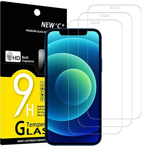 Protector Cristal Templado Iphone 12 Pro Marca NEW'C