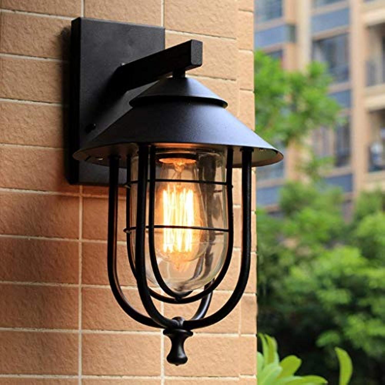 Outdoor wasserdichte Wand Lampe American Village Eisen Wand Lampe Loft Bar Cafe Restaurant Balkon Korridor Lichter