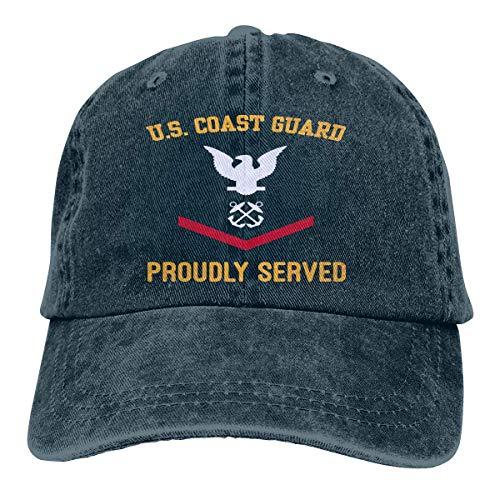 Us Coast Guard E-4 Petty Third Class E4 Unisex Adult Baseball Hats Navy
