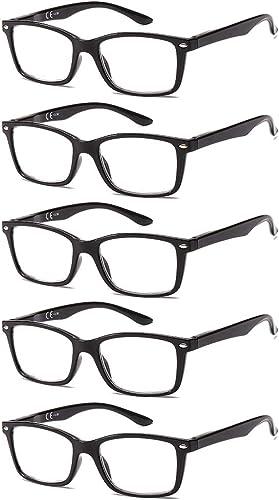 Suertree Lunettes de Lecture, Lunettes de Pour Ordinateur Aide visuelle Soins oculaires Lunettes Aide à la lecture po...