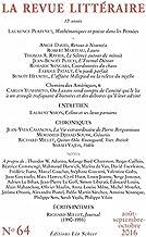 La Revue Littéraire N°64 (EDITIONS LEO SC) (French Edition)