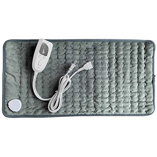 DZWJ Electric Heating Pad, 100-240V Electric Heating Blanket Intelligent Temperature Control for Back Pain and Cramps Relie,Green
