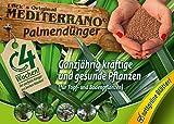 Fertilizzante naturale mediterraneo, universale, 10 kg, per piante mediterranee, banane, olive, limoni, palme di canapa, palme
