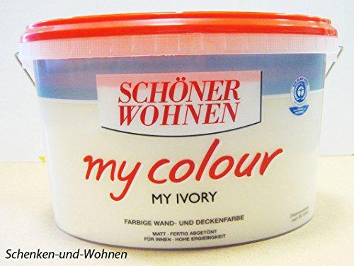 SCHÖNER WOHNEN FARBE Innenfarbe My Color 10,0L my ivory 10 l, my ivory
