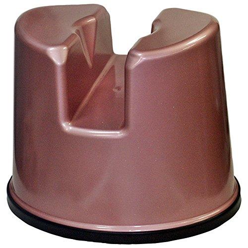 介護用風呂イス (お年寄り・お子様) 洗いにくい場所やケガの時、普段洗えない場所もスムーズに洗浄できます (ピンク)