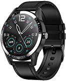 Smart Watch Uomini s Business Style Supporto Bluetooth Chiamata Cardiofrequenzimetro Full Touch Smartwatch per Android IOS A