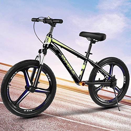 Bicicleta Sin Pedales Bici Bicicleta De Equilibrio Con Neumáticos De Aire De 18 Pulgadas Para Adultos, Niños Grandes Y Jóvenes, Bicicleta De Entrenamiento Ajustable Sin Pedal Con Freno De Mano Y Asien