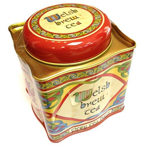 Scottish Wales Frühstück Afrikanischem und Indischem Tee Brauen mit Keltischem Roten Drach Cymru Dose | Nettogewicht: 125 g Bruttogewicht: 295 g