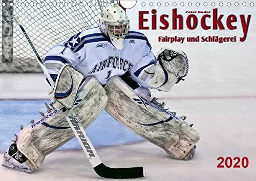 Eishockey - Fairplay und Schlägerei (Wandkalender 2020 DIN A4 quer)