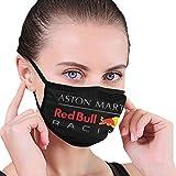 Männer Mode Mundschutz Anti-Staub Red Bull Racing Wind Waschbares Gesicht Bandanas Abdeckung Frauen Bart Sturmhaube Sportschutz Schal-one_color-