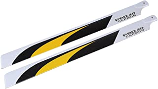 JIMI Carbon Fiber 600mm Main Blades for Trex 600 RC Helicopter