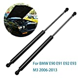 Barras de amortiguaci/ón para coche con soporte de elevaci/ón para cap/ó de BMW E90 E91 E92 E93 M3 amortiguadores de gas para cap/ó amortiguadores de elevaci/ón para cap/ó delantero soporte estable