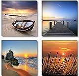 Visario Leinwandbilder 6608 Bild auf Leinwand Natur, 4 x 30