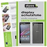 dipos I 4X Schutzfolie matt kompatibel mit Sony Xperia Z1 Folie Bildschirmschutzfolie