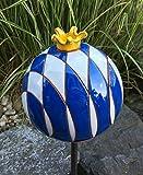villa-lilla Bayrische Gartenkugel Krone