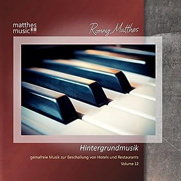 Hintergrundmusik, Vol. 12 - Gemafreie Musik zur Beschallung von Hotels & Restaurants (inkl. Klaviermusik zum Entspannen)