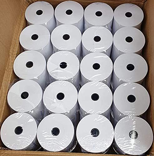 Rollos térmicos premium de 80 x 80 mm para impresoras térmicas 20 x Rolls