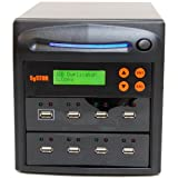 SySTOR 1 to 7 Multiple USB Thumb Drive Duplicator / USB Flash Card Copier (SYS-USBD-7)