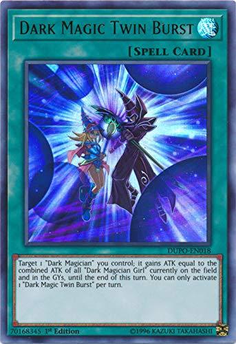 Yu-Gi-Oh! - Dark Magic Twin Burst - DUPO-EN018 - Ultra Rare - 1st Edition - Duel Power