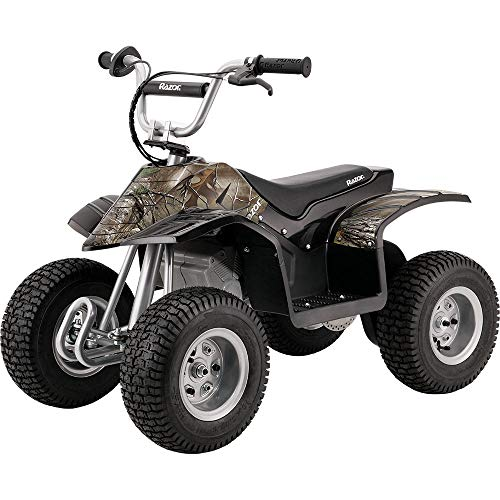 Razor Dirt Quad Electric Four-Wheeled Off-Road Vehicle - Camo Black