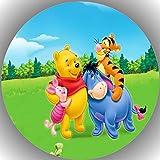 Fondant Tortenaufleger Tortenbild Geburtstag Winnie Pooh T25
