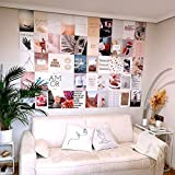 Flamingueo Fotos Pared Decoracion - 50 Fotos Decoracion Habitacion Aesthetic, Decoracion Paredes Dormitorio, Decoracion Habitacion Juvenil, Vinilos Pared, Posters para Pared (Dream Land)