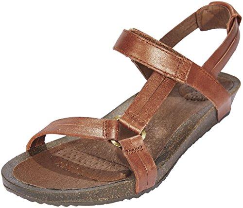 TEVA YSIDRO UNIVERSAL - METALLIC Sandalen/Open schoenen dames Bruin Sandalen/Open schoenen