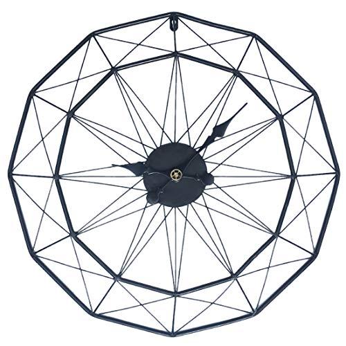 Jo332Bertram Reloj de Pared Grande - 60cm Reloj de Pared Silencioso de...