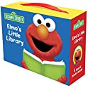 Elmo's Little Library (Sesame Street) 4 Book Set