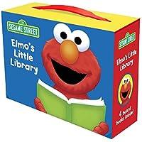 Elmo's Little Library (Sesame Street): Elmo's Mother Goose; Elmo's Tricky Tongue Twisters; Elmo Says; Elmo's ABC Book (Sesame Street (Random House))