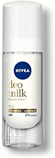 Nivea Women Deodorant Roll On, Deo Milk Dry, for Beautiful, Nourished Underarms and 48h Odour Protection, 40 ml