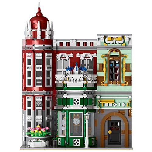 Serie City Street View,3050 piezas con luces, museo antiguo, bloques de construcción, bloques de construcción, juguetes para adultos y niños, compatible con Lego Technic A,56 * 10 * 43cm