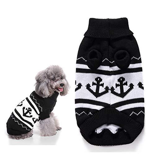 Huisdier trui hond warme kleding klassieke Englon stijl coltrui jas kleding herfst winter vest voor honden katten