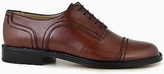 051-LORD NOC-Vidala Kahve 102 - Rugan Siyah 401 Nevzat Onay Bağcıklı Kahverengi Deri Kösele Erkek Ayakkabı