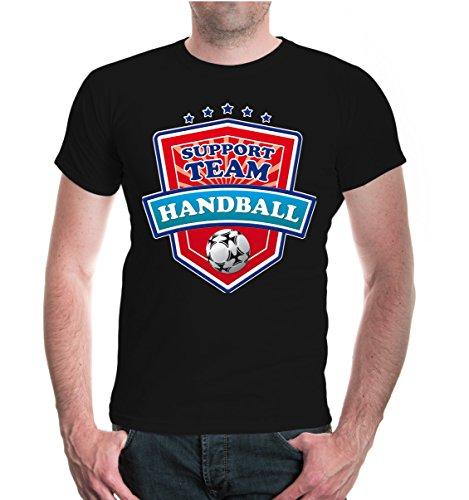 T-Shirt Handball-Support Team-L-Black-z-Direct