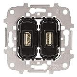 Niessen 8185.3 - Toma cargador usb 2 x 2a/5v