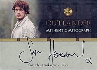 Outlander Season 1 Autograph Card SH Sam Heughan as Jamie Fraser