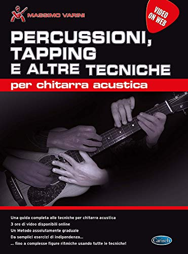 Percussioni, tapping e altre tecniche-Gitarre-BOOK+VIDEO-ONLINE
