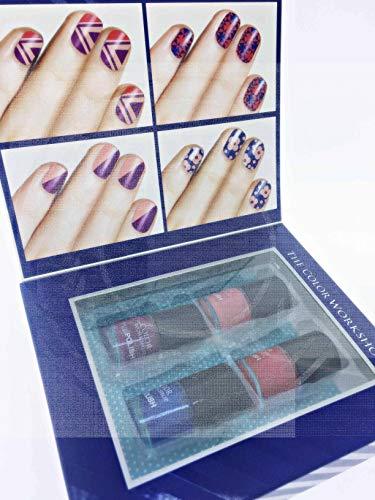 Smalto per Unghie Set di 4–The Color Workshop Nail The Look editor' S Choice Polish Collezione