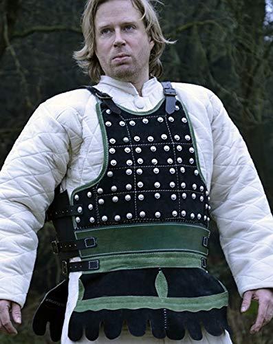 Brigantine aus Leder - Brustpaner - Lederpanzer - Lederrüstung
