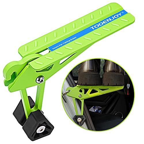TOOENJOY Universal Fit Car Door Step, Foldable Roof Rack Door Step Up on Door Latch, Supports Both...