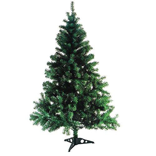 Multistore 2002 - Albero di Natale artificiale con piedistallo, 180cm, 600punte
