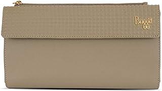Baggit Autumn/Winter 2020 Faux Leather Women's 2 Fold Wallet (Beige) (Mule)
