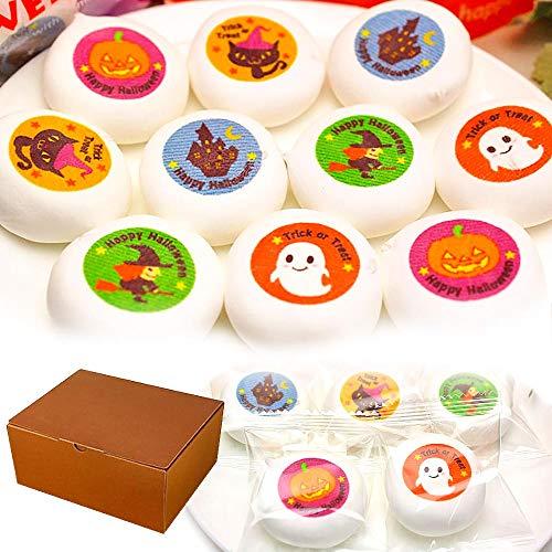 ハロウィン お菓子 マシュマロ チョコレート入り 個包装 100個 詰め合わせ 箱入り プレゼント スイーツ