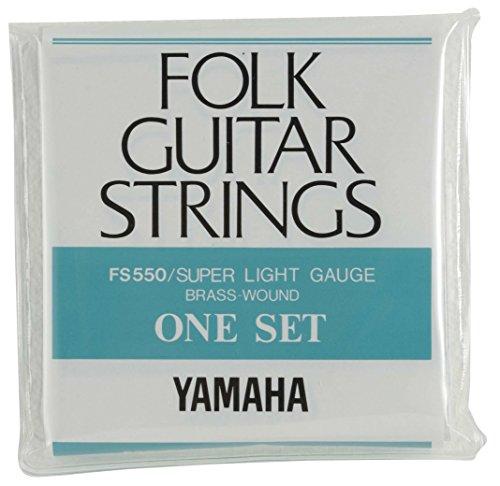 ヤマハ YAMAHA ギター スーパーライトゲージ フォークギター用セット弦 FS550 初心者にも優しいスーパーラ...
