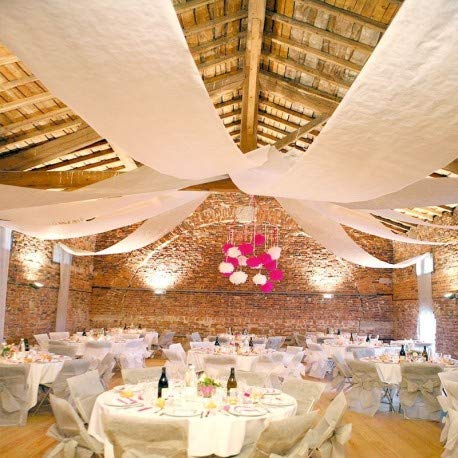 Colgante de boda Fetez-Moi 100 metros Blanco